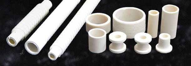 アルミナ、ステアタイト、コージェライトジルコン、普通磁器の素材に対応しています。